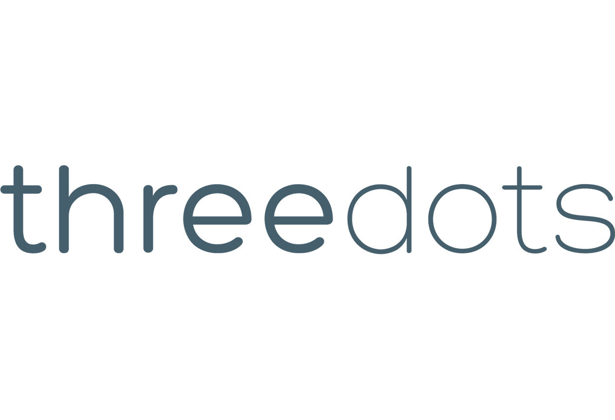 Threedots logo